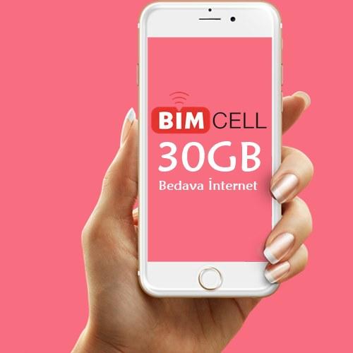 Bimcell 30GB Ücretsiz İnternet