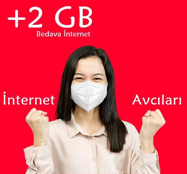 Vodafone İnternet Avcıları Bedava İnternet